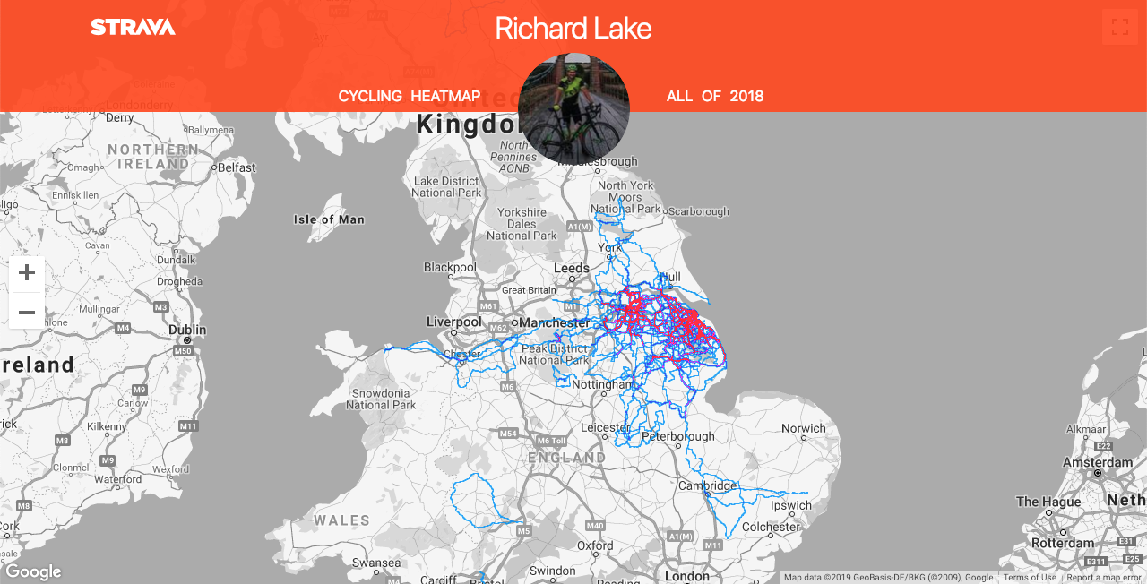 2018 my first year of riding audax